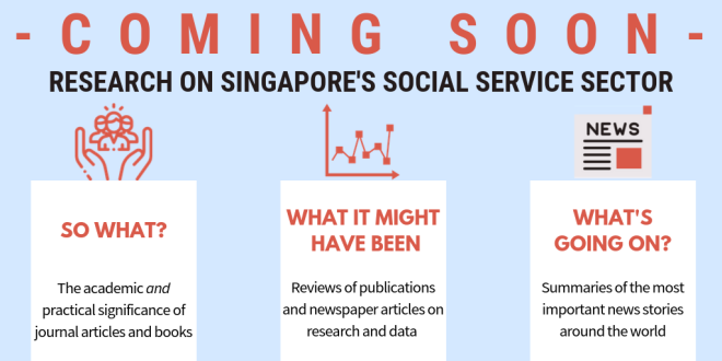 socialservice.sg's three sections