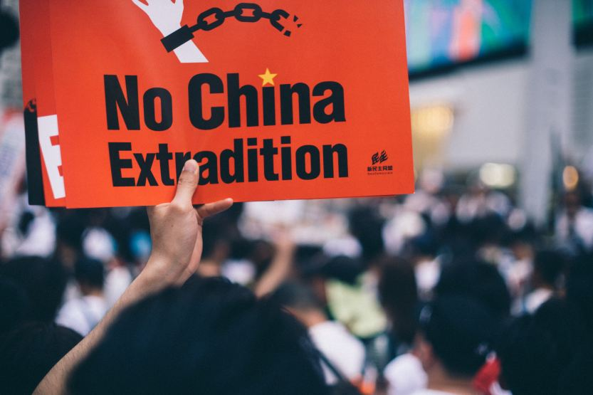 Hong Kong protest against the extradition bill