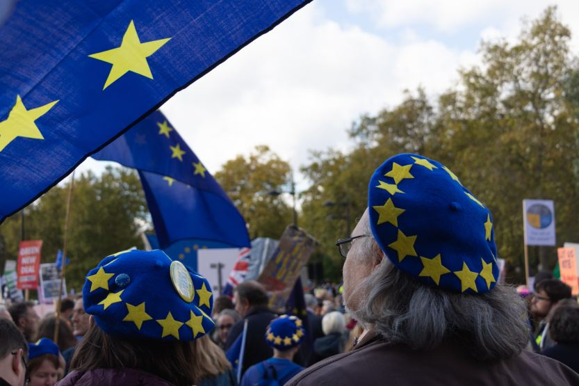 Protest against Brexit in London, the United Kingdom