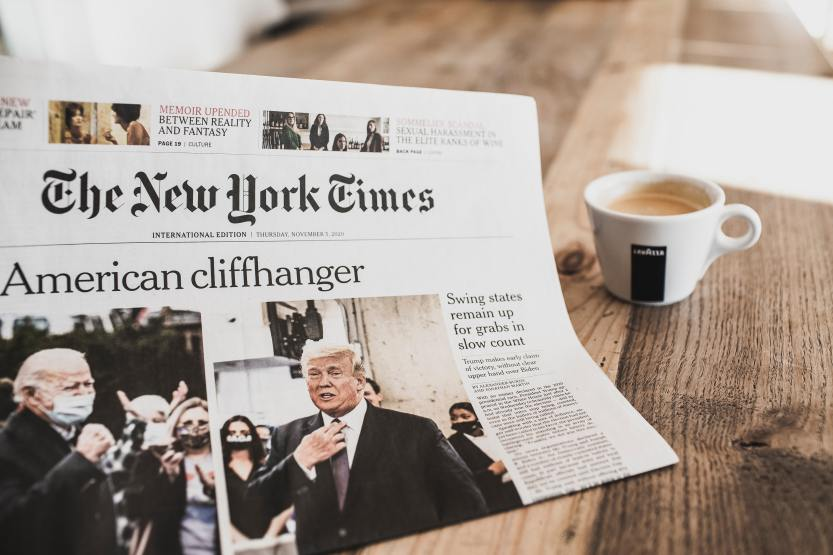 International daily newspapers from Thursday (November 5, 2020), the day after the US election