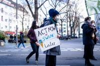 Fridays for Future protest at Bonn, Germany (Photo by Mika Baumeister on Unsplash)